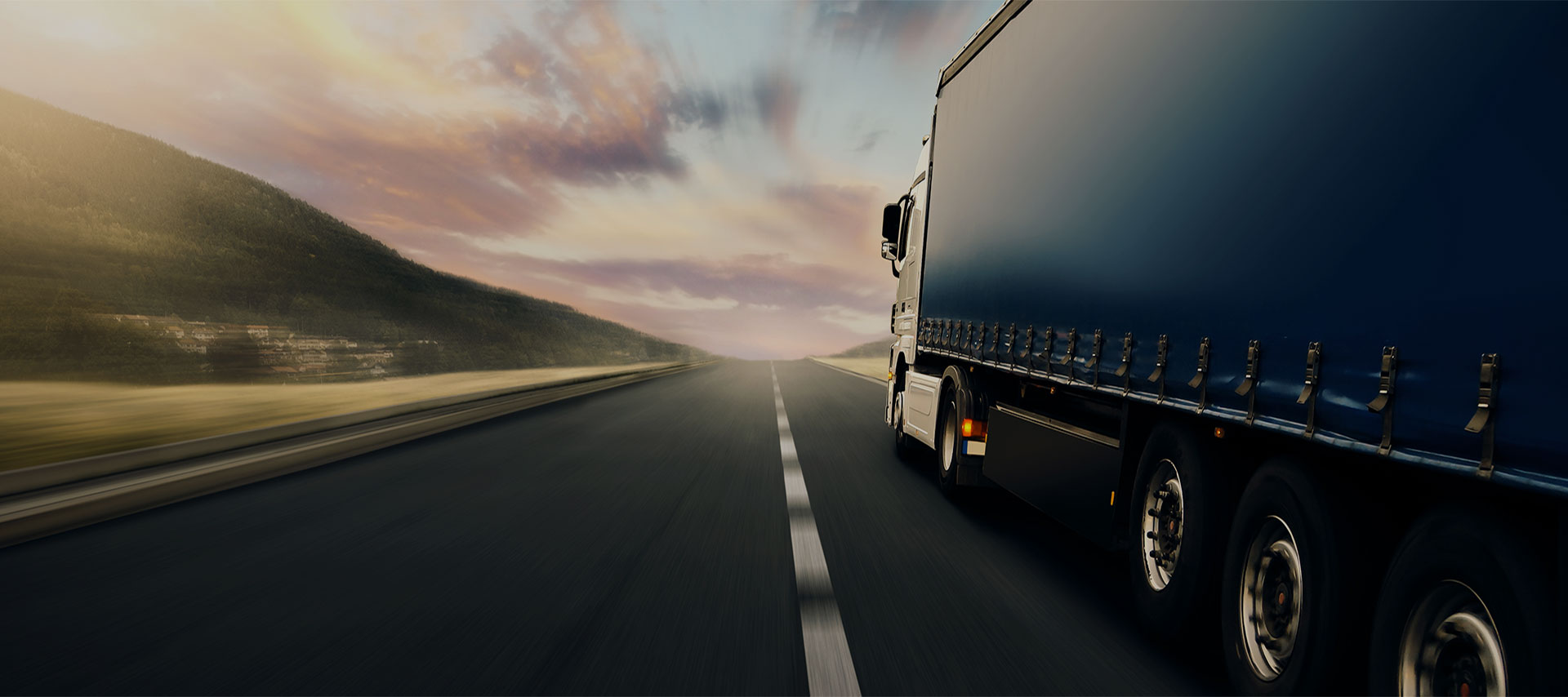 trucking transportation and logistics website template