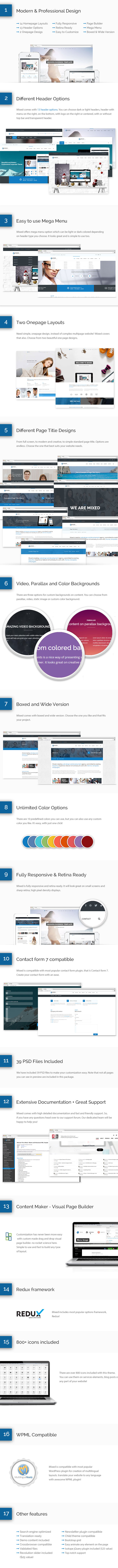 Mixed - Modern and Professional WordPress Theme - 2  Download Mixed – Modern and Professional WordPress Theme nulled mixed big preview